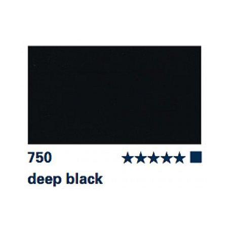 Akademie Gouache 60ml - 750 deep black