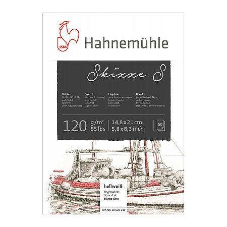 Hahnemuhle, Sketch S, Block 120g, 50 ark - A5